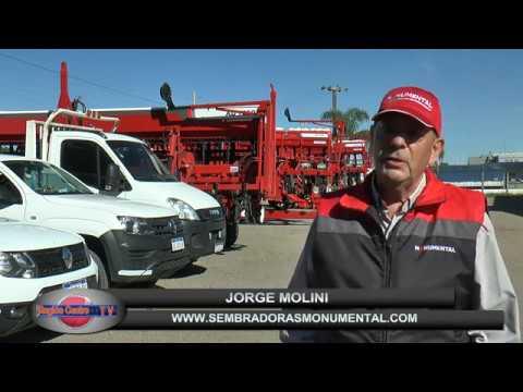 Sembradoras Monumental, Jorge Molini, ventas, nuevos sistemas  de siembra de  ultima generacion.