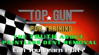 The TRUTH about Learning Paintless Dent Repair. #2 Can YOU learn PDR?