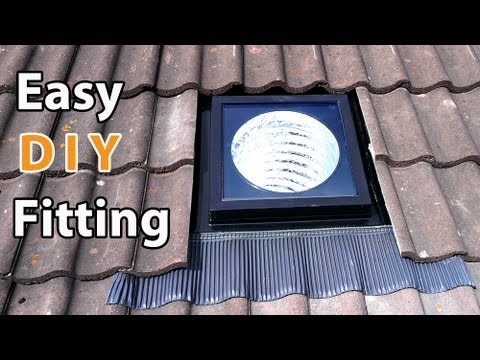 Velux Sun Tunnel Diy Install Easy How To Fit A Solar Or
