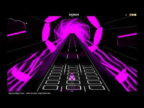 High and Mighty Color - Ichirin no Hana (Huge Hollow Mix) ~ Audiosurf