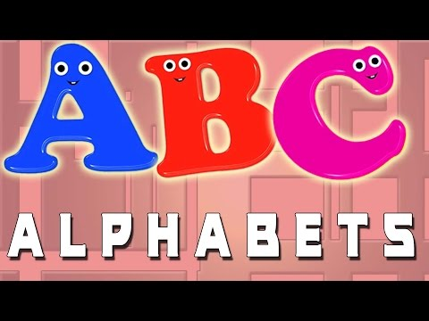 ABC música | aprender o alfabeto | alfabeto em português para crianças