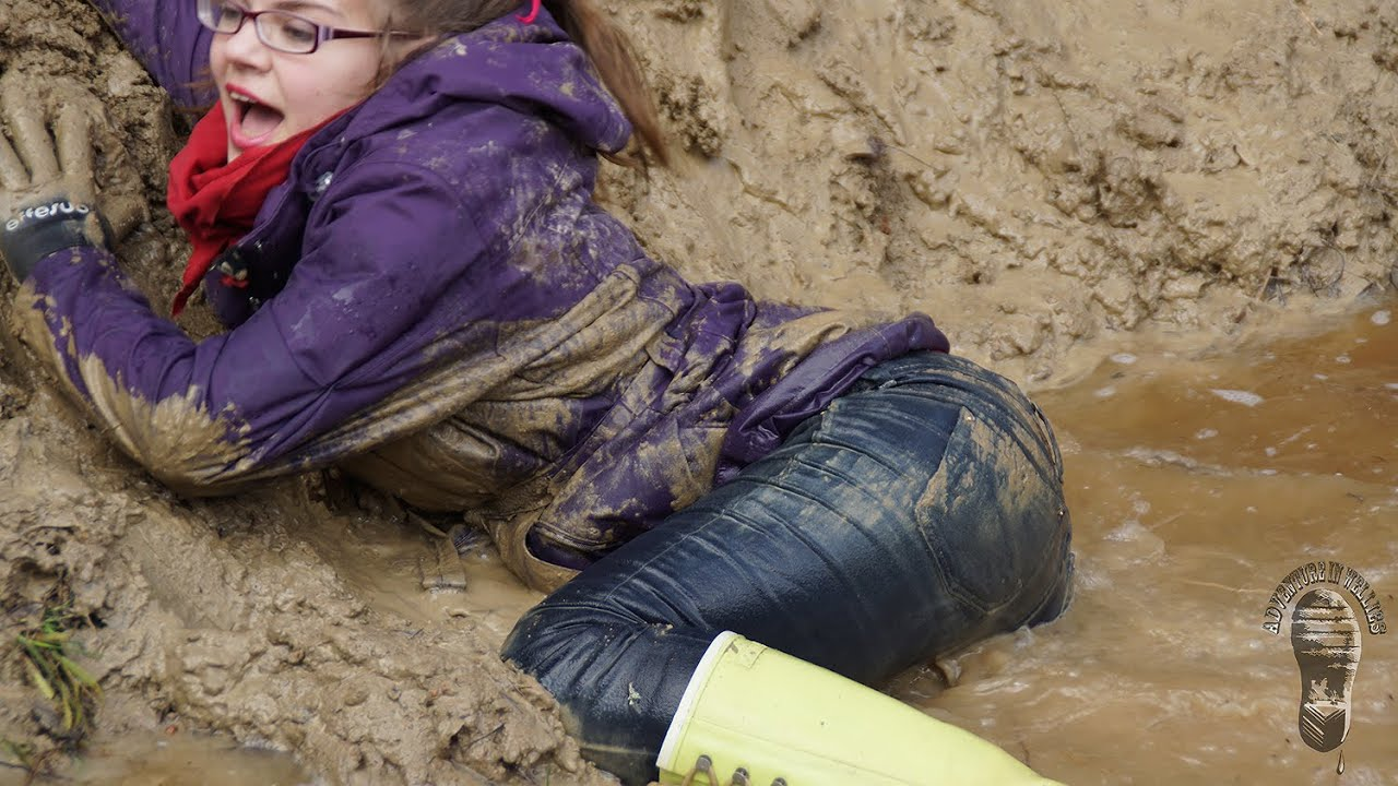 Fun On A Muddy Slope Adventure With Mud Vikings Amp Stripy