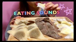 【EATING SOUNDS】HANNARI生八ツ橋!!NAMA-YATUHASHI!!