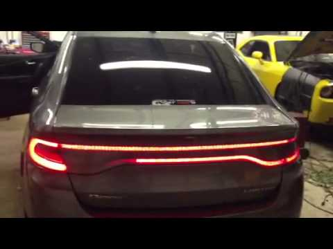 2013 Dodge Dart Custom Racetrack Light Youtube