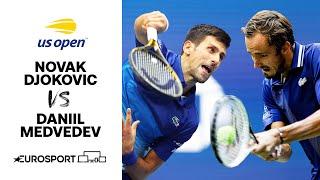 Novak Djokovic v Daniil Medvedev | US Open 2021 Highlights
