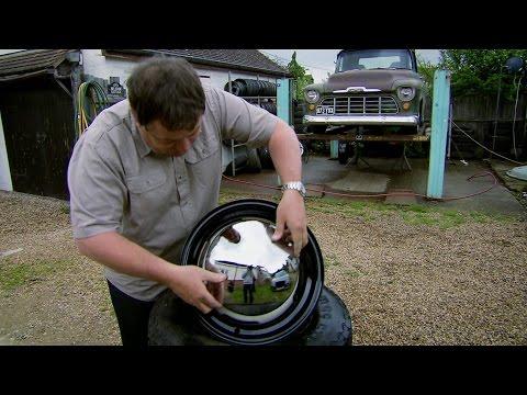 Deep Dish Look for the VW camper van wheels - Wheeler Dealers