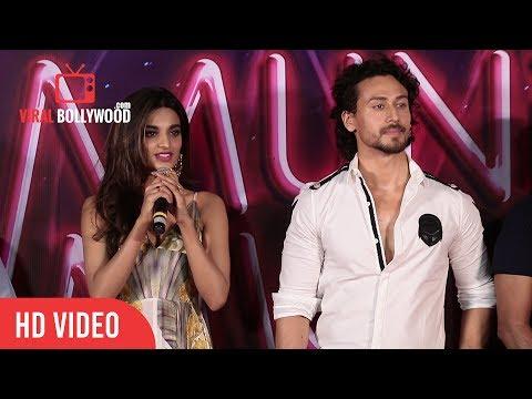 Nidhi Agerwal Full Speech | Munna Michael Trailer Launch | Eros International, Next Gen Films