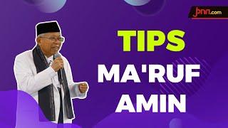 Tips Ma'ruf Amin Tingkatkan Daya Tahan Tubuh Cegah Corona - JPNN.com