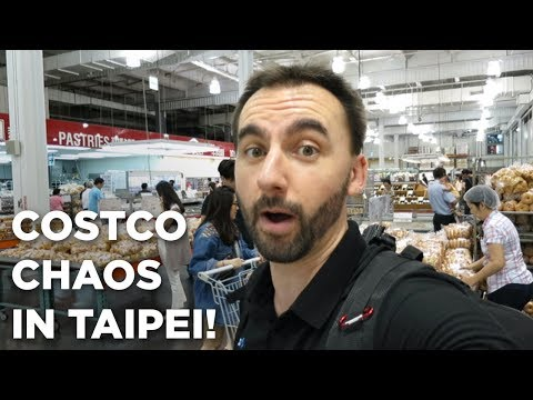 COSTCO Chaos in Taipei!
