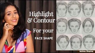 Contour & Highlight According to your Face Shape | Mohna Sharma