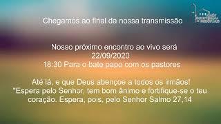 Live IPH 20/09/2020 - Culto Vespertino