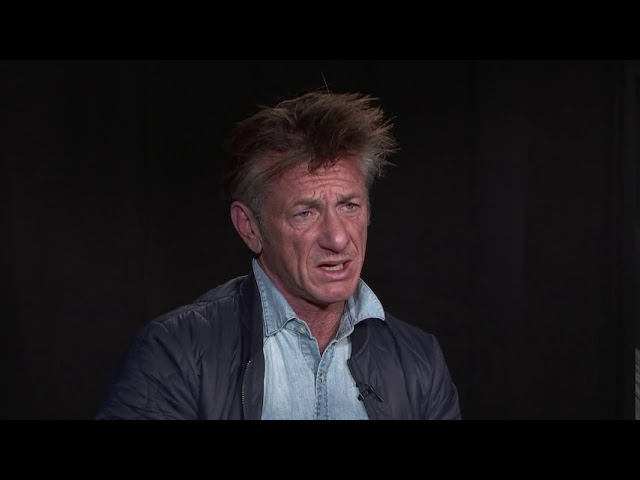 """Sean Penn, who has just released his first novel """"Bob Honey Who Just Do Stuff,"""" says he's """"not in love with the job of acting anymore"""" and wants to continue writing books. (The Associated Press)"""