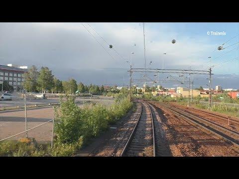 Cab ride from Västerås to Stockholm *No sound*