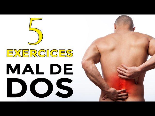 5 EXERCICES POUR LUTTER CONTRE LE MAL DE DOS