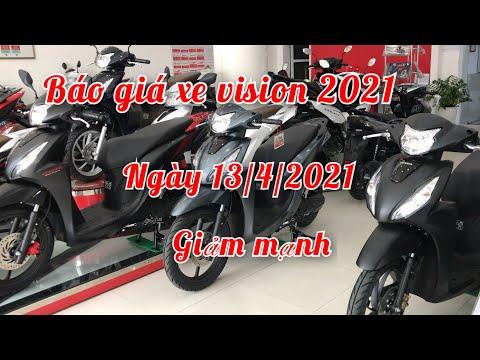 Bảng giá xe Honda Vision 2021 ngày 13/4/2021 giảm mạnh