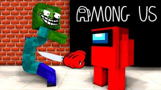 Monster School : Among Us Challenge - Minecraft Animation