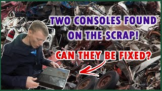 These Two PlayStation 4s Were Found On The Scrap! Can We Fix Them?