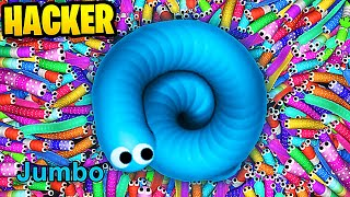 Slither.io Hack vs 107,830 Noob - Epic Slitherio A.I Trolling Gameplay