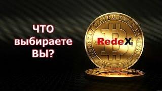 RedeX: Что выбираете Вы?