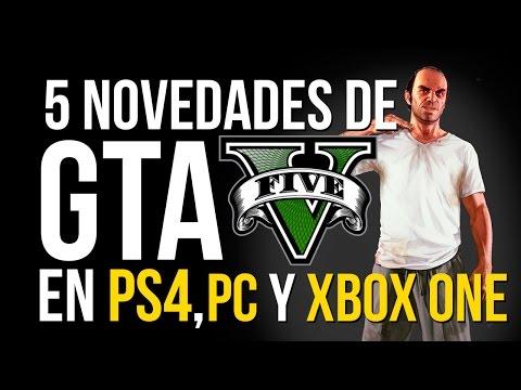 5 COSAS NUEVAS de GTA 5 en PS4, Xbox One y...