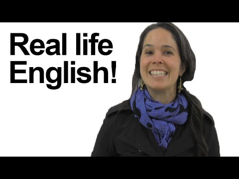 American English in Real Life Study - Gonna, alright, sort of, check out