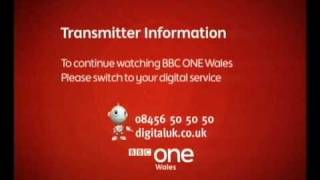 BBC One Wales Analogue Final Closedown 31st March 2010