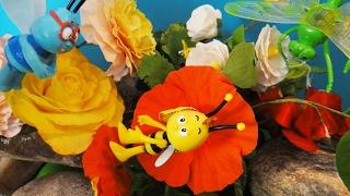 КАК ПОМОЧЬ ПЧЕЛЁНКУ ВИЛЛИ? Хищный цветок. Мультфильмы про животных для детей