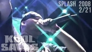 Kool Savas - Splash! 2008 #2/21: Alle schieben Optik (Official HD Live-Video 2008)