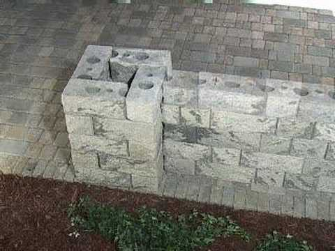 Charmant How To Build Strong Patio Walls