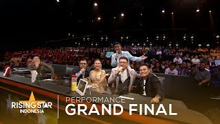 Medley Kahitna All Song's | Grand Final | Rising Star Indonesia 2019 MP3