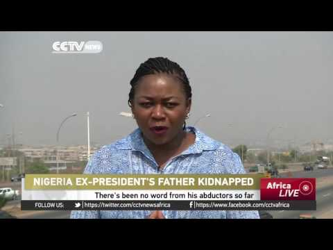 Nigeria's former president Goodluck Jonathan's father kidnapped