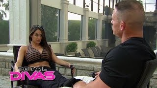 Nikki Bella tries to confess her secret to John Cena: Total Divas, May 25, 2014