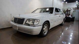 mercedes S500 45K 1998   مرسيدس اس 500 1998 ماشي 45 الف فقط