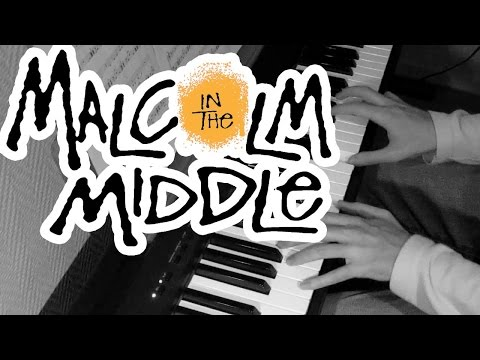 Malcolm in the Middle - Boss of Me - Piano Cover