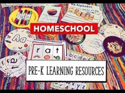 HOMESCHOOL PRE-K LEARNING RESOURCES