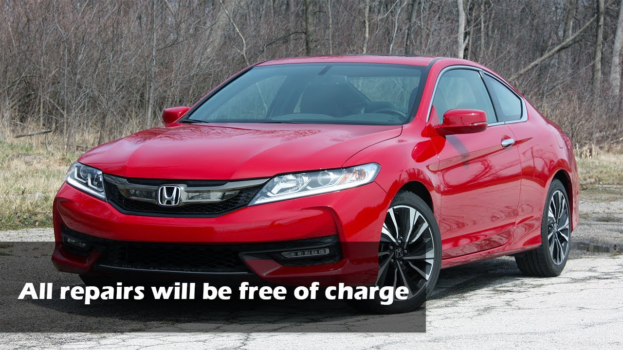 Honda Recalls 1 15m Accords For Fires Caused By Battery Sensor