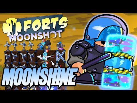 Moonshine Commander Showcase - Forts Moonshot DLC Gameplay |