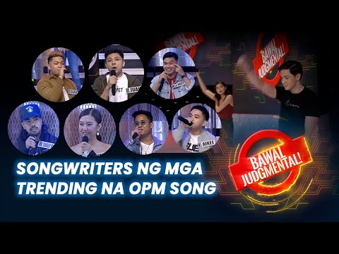 Songwriters ng Mga Trending na OPM Song! | Bawal Judgmental | June 29, 2020