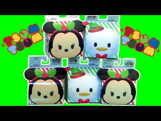 Disney Tsum Tsum Toys Surprises Christmas Edition