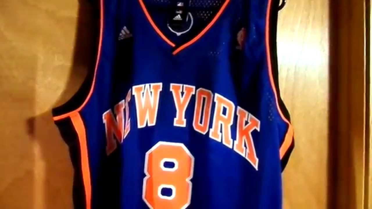 683d723b5ffd Danilo Gallinari Authentic NY Knicks Road Swingman jersey Review ...