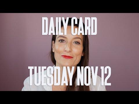 **HIGHER LOVE DAILY CARD NOVEMBER 12TH 2019**