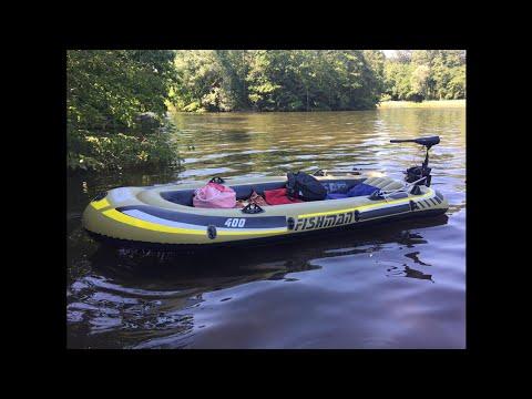 sevylor hf 250 boat 18lb trolling motor review test. Black Bedroom Furniture Sets. Home Design Ideas