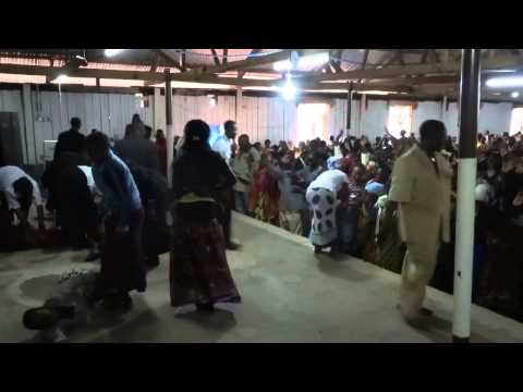 13 Possessed Women in a Tanzanian Church