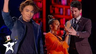 THE MAGIC AVENGERS Hypnotise Alesha Dixon on America's Got Talent: The Champions