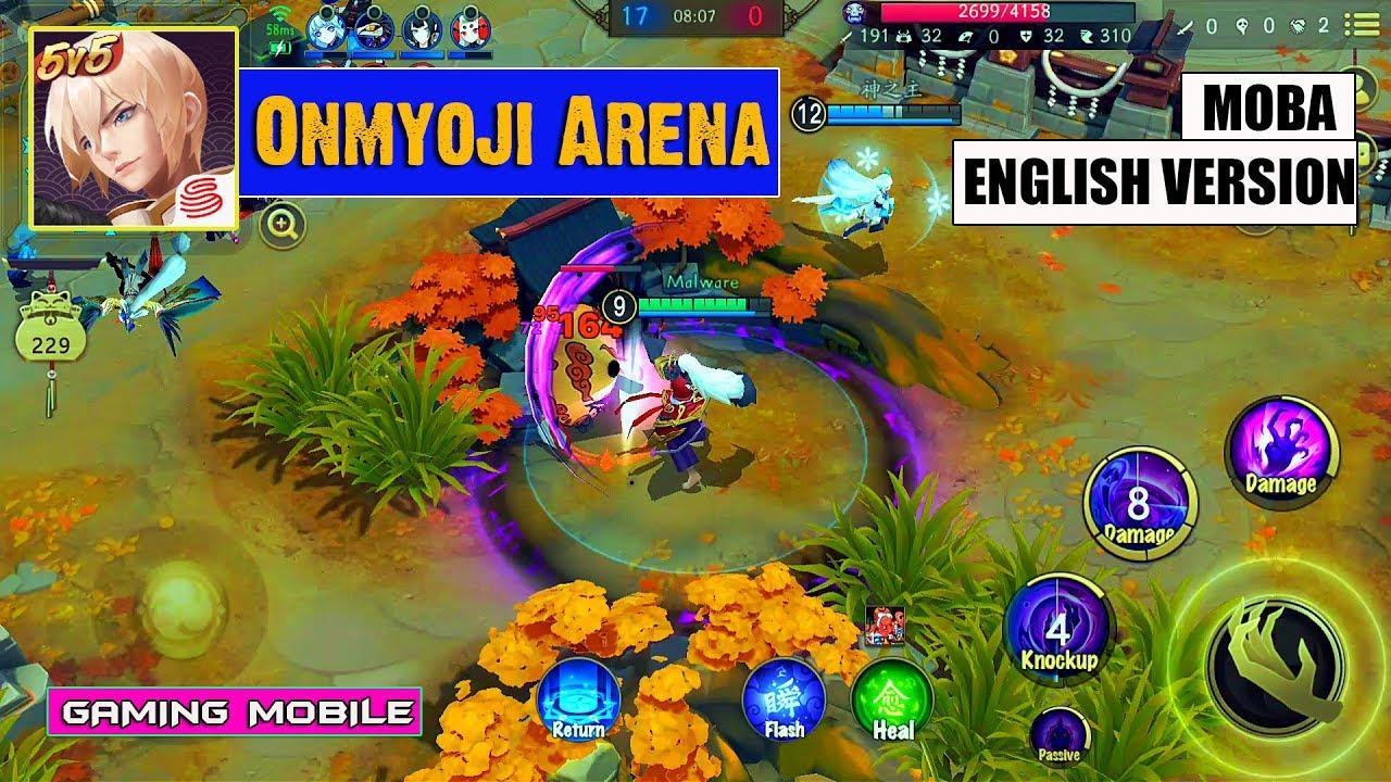 Android Ios Onmyoji Arena New Moba English Version