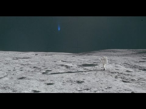Dozens of UFO's seen in 'new' images of the Moon released by NASA
