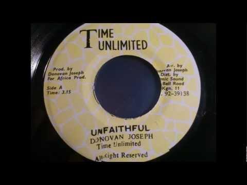 Donovan Joseph - Unfaithful & dub version
