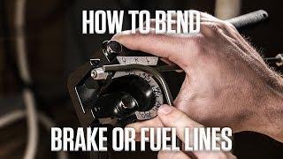 كيفية ثني الفرامل أو خطوط الوقود | Lebanon ديي