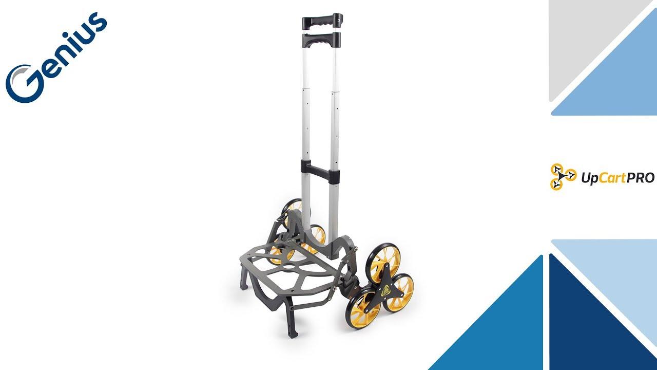 genius upcart pro aluminium-treppensteiger | sackkarre