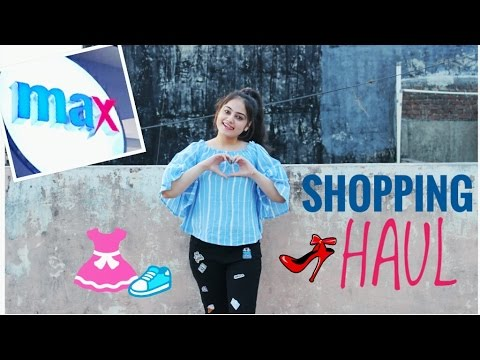 MAX FASHION HAUL   Summer 2017 India   Try on Clothing Haul   Cheap Trendy Clothes in India